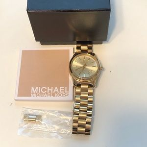 Michael Kors Accessories - Michael Kors Gold watch with extra link